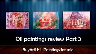 Original oil painting review Part 3 || BuyArtUs(All paintings are available for sale at http://buyartus.com. To place an order please contact me via email: buyartus@gmail.com My social pages: Twitter: ..., 2015-04-15T07:57:22.000Z)