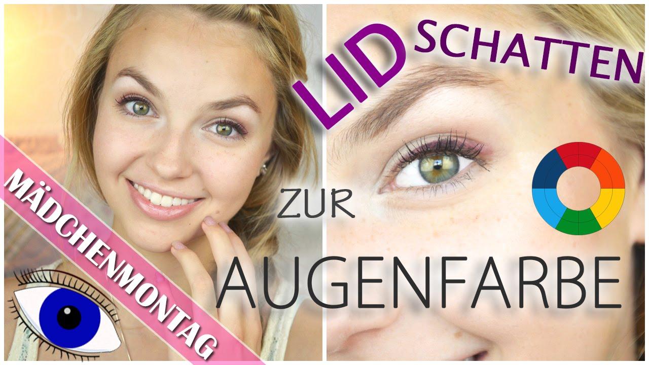 Perfekter Lidschatten Zur Augenfarbe Tipps Um Augen Zum Strahlen
