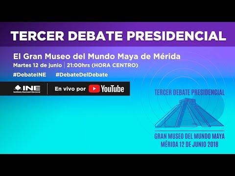 Tercer Debate Presidencial #Elecciones2018 thumbnail