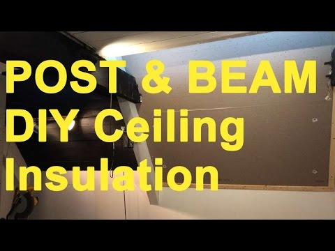 Post Amp Beam Homes Ceiling Insulation Options And Costs