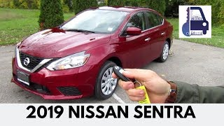 2019 Nissan Sentra SV In Depth Walk Around and First Look