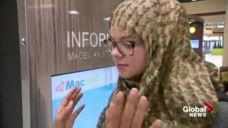Global News: Ahmadiyya Muslim #JeSuisHijabi movement comes to Calgary
