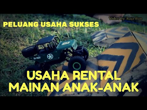 Bisnis anak muda rental mainan anak mobil RC - YouTube a6c564b2cc