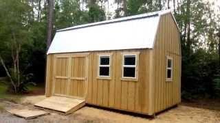 12x20 Barn(gambrel) Shed 1 - Shed Plans - Stout Sheds Llc