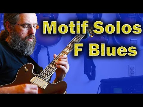 Motif Exercises  - F Jazz Blues