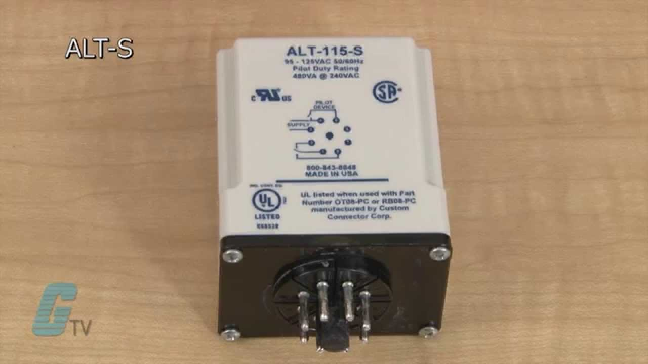 hight resolution of symcom alt series alternating relay
