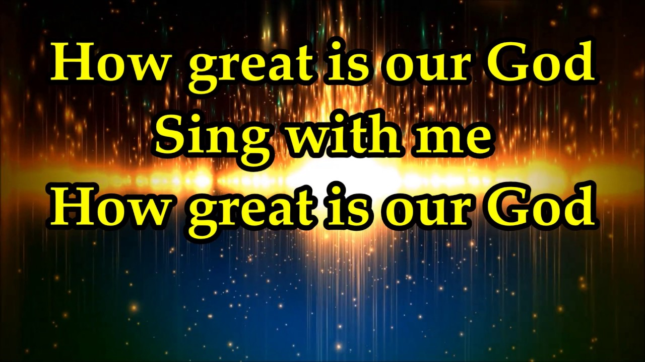 Bishop Paul S. Morton, Sr. - How Great Is Our God Lyrics