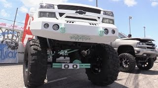lifted trucks at nopi myrtle beach