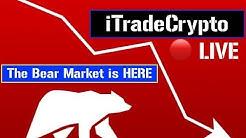 Bitcoin Takes a Hit! ↘ 🔴 LIVE | Crypto