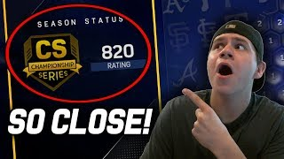 Late World Series Push! | MLB The Show 17 Diamond Dynasty Ranked Seasons