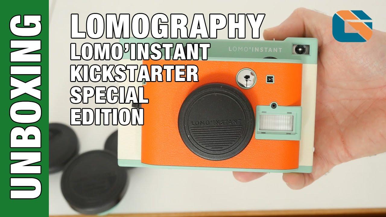 Lomography Lomoinstant Camera Kickstarter Special Edition Unboxing Instant Sanremo First Impressions