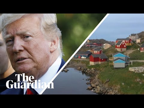 Trump tweets image of enormous Trump Tower on Greenland