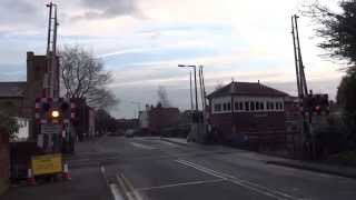 Henwick Road Level Crossing before and after refurb