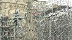 Notre-Dame de Paris: début des opérations de démontage de l'échafaudage | AFP Images
