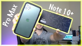 iPhone 11 Pro vs Note 10+ Photo Comparison SHOCKING results!