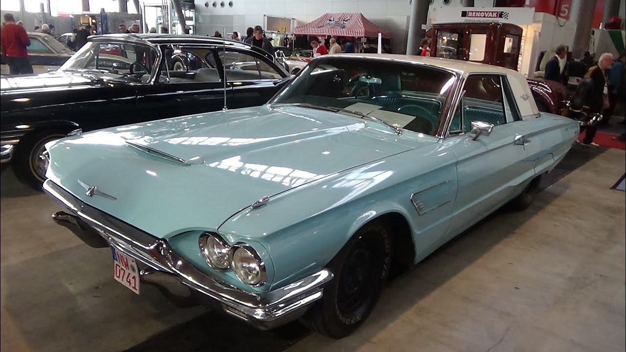 1965 ford thunderbird exterior and interior retro classics stuttgart 2015