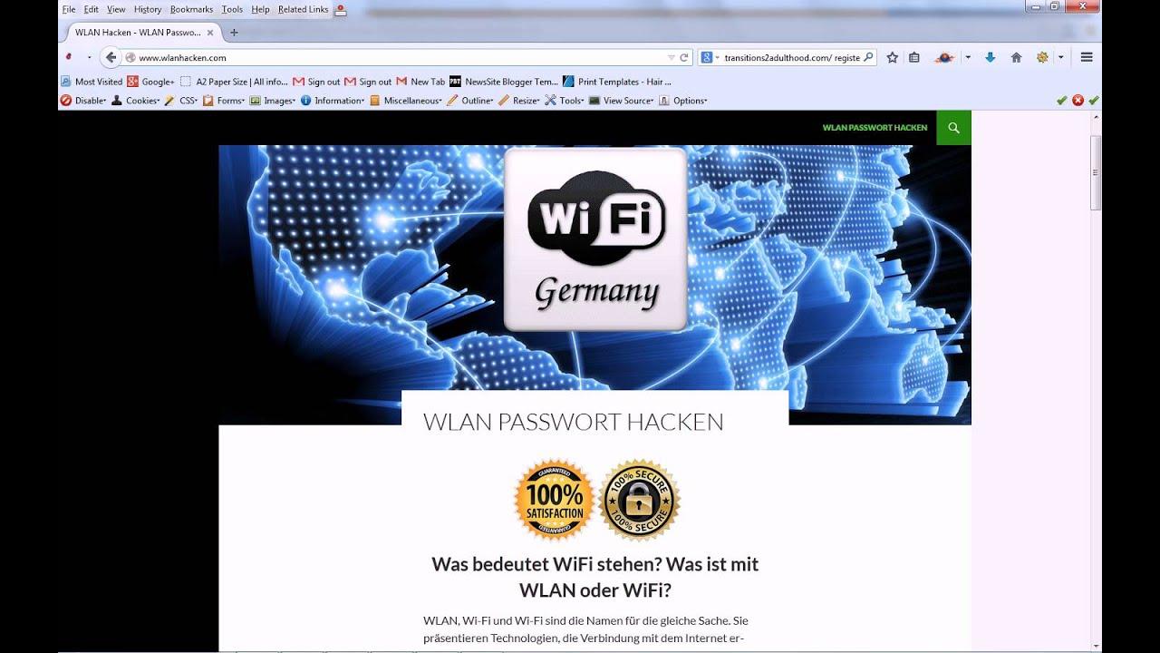 Wlan Passwort Hacken