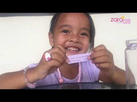 Belajar sambil bermain ala zara - cara belajar untuk anak TK A - fun learning video - home schooling