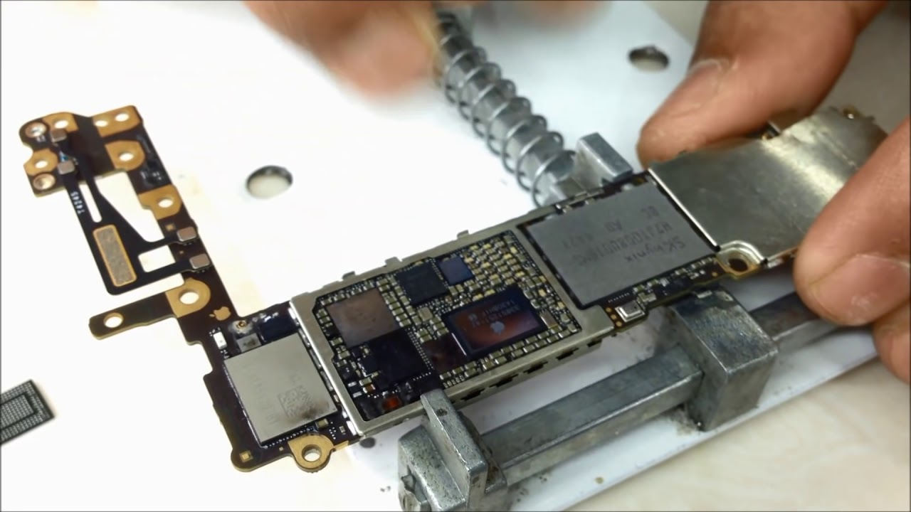 small resolution of iphone 6 dead fix by changing pm ic