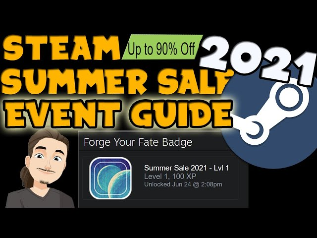 Steam Summer Sale 2021 Guide || Event, Badges, Cards, and Point Shop Rewards