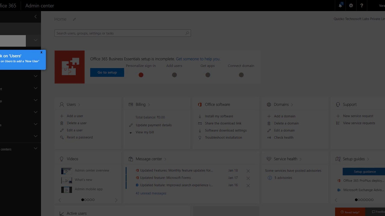 Whatfix Employee Onboarding and Training atop MS Office 365 - YouTube