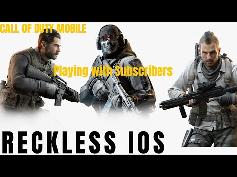 🔴  CALL OF DUTY MOBILE LIVE! 🔴 NOOB PLAYING IPAD FOR FIRST TIME (STREAMING TILL I GET GOOD)