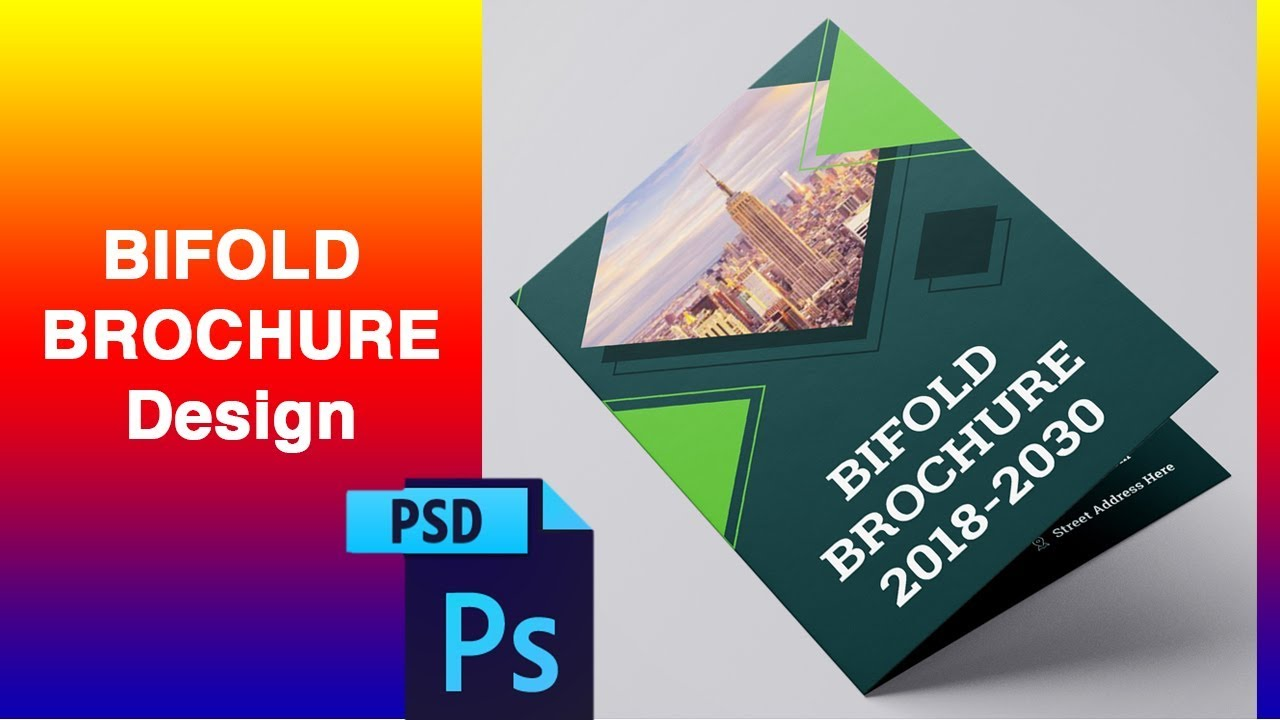 how to make a brochure in photoshop cs6