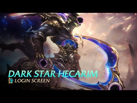Cosmic Reaper Hecarim - Login Screen [FAN MADE]
