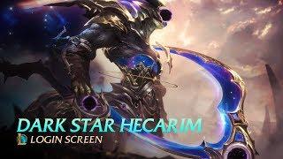 Cosmic Reaper Hecarim - Login Screen [FAN MADE]