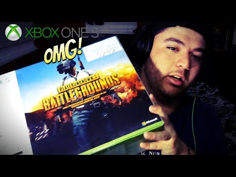 Unboxing Xbox One S Playerunknown's Battlegrounds 'Edition' $249 (USD)