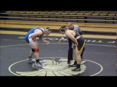 Kansas High School Wrestling - Butler vs Geary at THS Jan 9, 2013