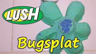LUSH - BUGSPLAT Bath Bomb - DEMO - Underwater - REVIEW - UK Kitchen