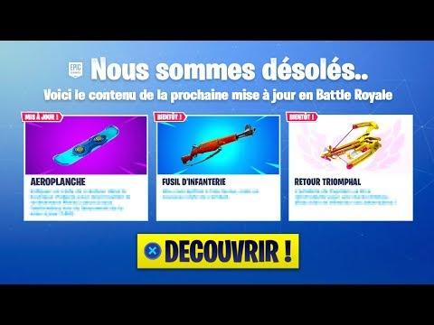 UN EMPLOYÉ D'EPIC GAMES DÉVOILE LA FIN DE FORTNITE SAISON 7.. thumbnail
