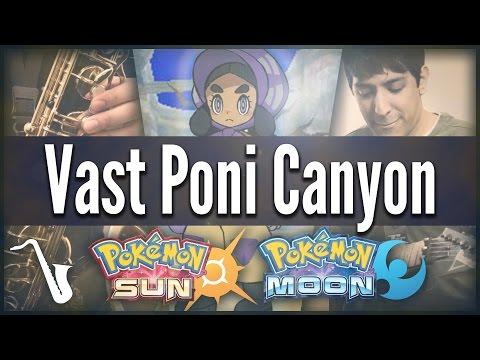 Pokémon Sun & Moon: Vast Poni Canyon - Jazz Cover    insaneintherainmusic (feat. SwigglesRP)
