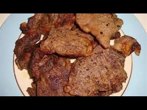 لحم مشوي بالفرن