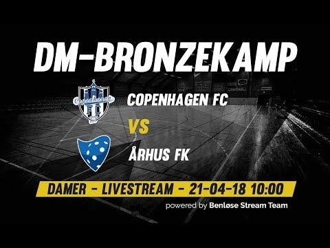 Floorball   Dame bronzefinale 2018   Copenhagen FC vs Århus FK