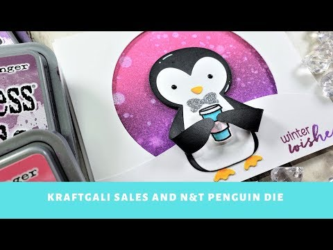 HUGE Kraftgali Sales and CUTIE N&T Penguin Card