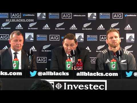 PRESS CONFERENCE: All Blacks v Argentina