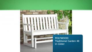 Shop Online Benches & Gliders by Polywood Furniture