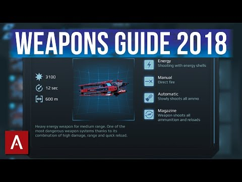 War Robots Weapons Guide 2018 - What weapons are worth upgrading?