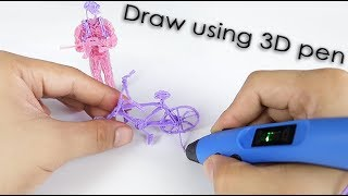 3D Drawing using Sunlu Intelligent 3D PEN