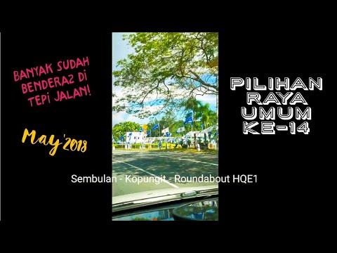 PRU-14 Sabah '18 - kota kinabalu @Vlog Saja-Saja | oshin 00