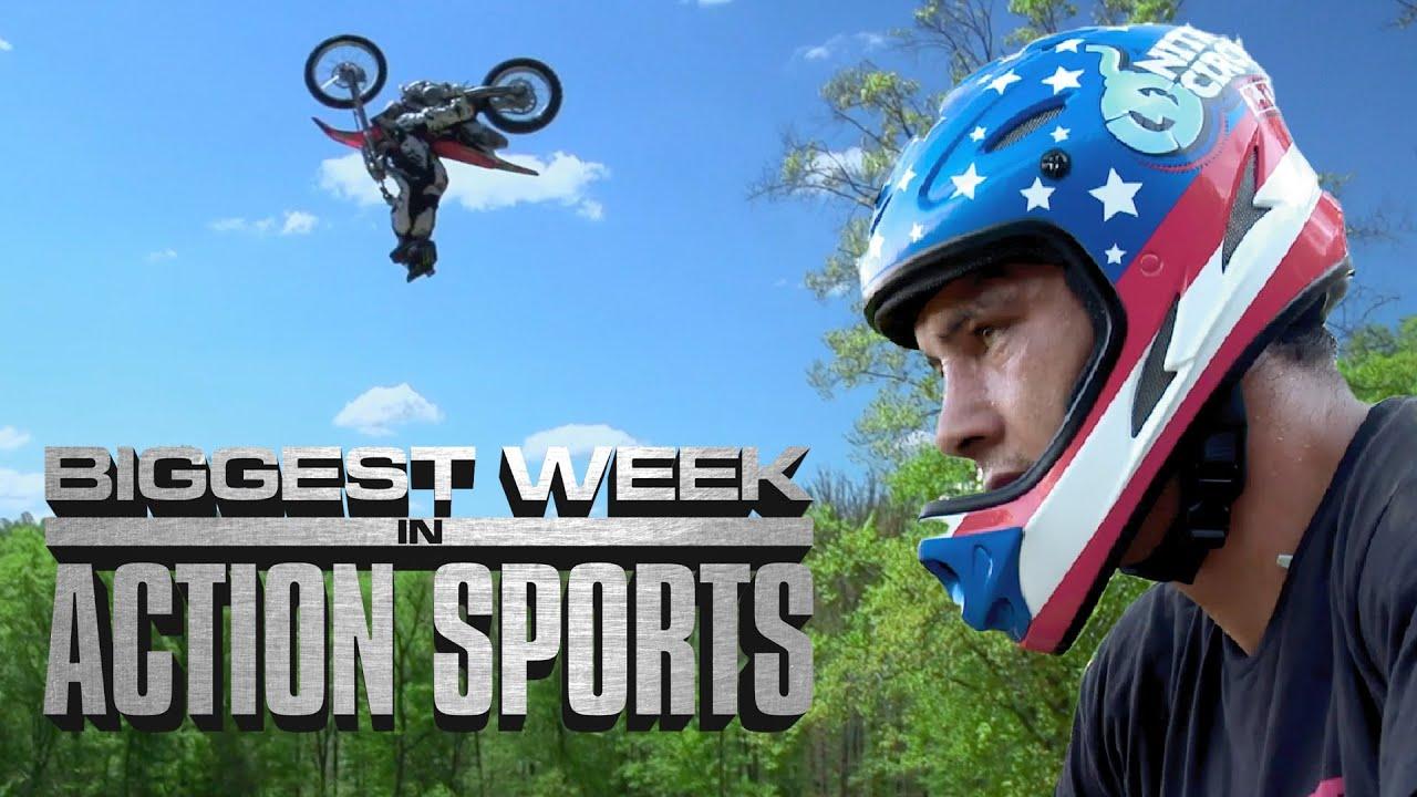 The Biggest Week in Action Sports: FMX Triple Backflip & BMX Quad Backflip