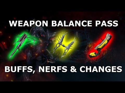 Warframe -  Coming Soon™ - Weapon Balance Pass
