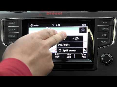 mk7 VW Golf TDI Discover Media GPS navigation radio system review and functions