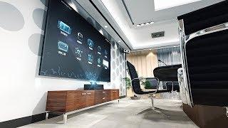 Samsung 4k TV    Samsung The Wall TV