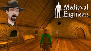 Medieval Engineers Ep. #4  Building A Proper Stone House