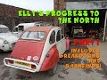 2CV Roadtrip - Elly's Progress to the North. Part One