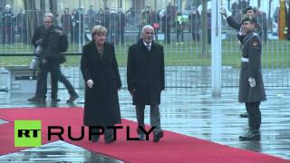 Germany: Merkel greets President Ghani in Berlin