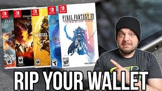 The Nintendo Switch Will DESTROY Your Wallet in April! | RGT 85 thumbnail